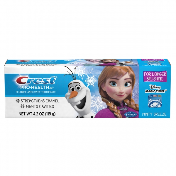 Crest Frozen dantų pasta