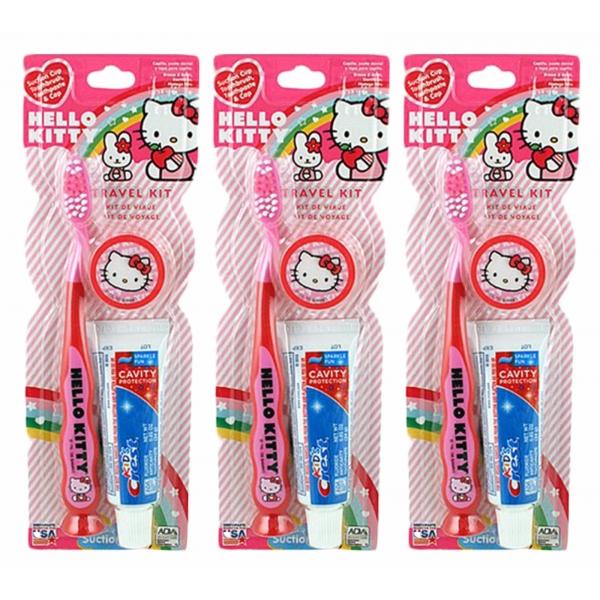 Crest Hello Kitty rinkinukas vaikams