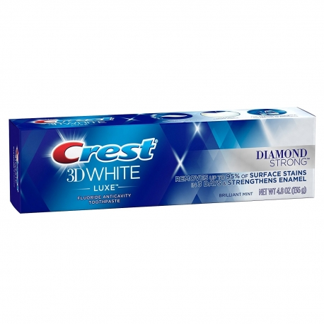 Dantų pasta Crest 3D White Luxe Diamond Strong 136g