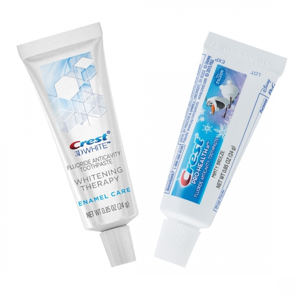 Crest Whitening Therapy + Frozen dantų pastos