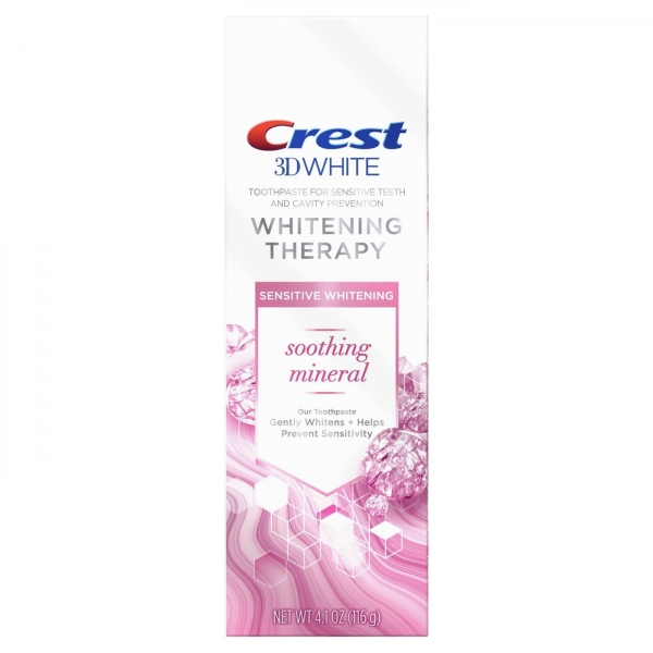 Crest Whitening Therapy Soothing Mineral 116g.