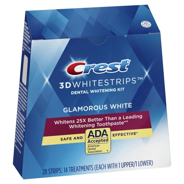 Crest Glamorous White 14vnt.