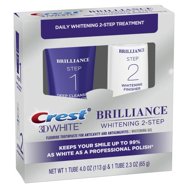 Crest Brilliance balinimo sistema