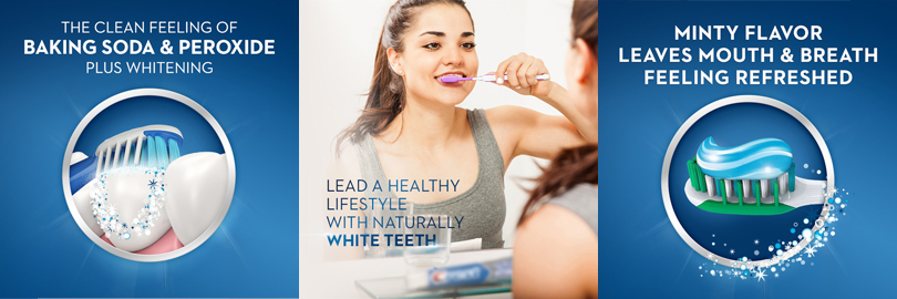 Crest Peroxide dantų pasta