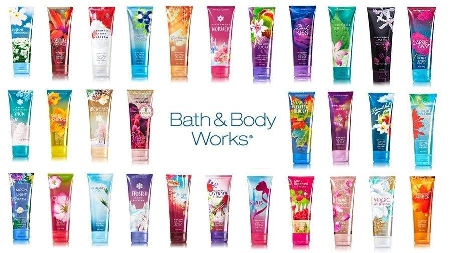 Bath and Body Works kosmetika iš JAV